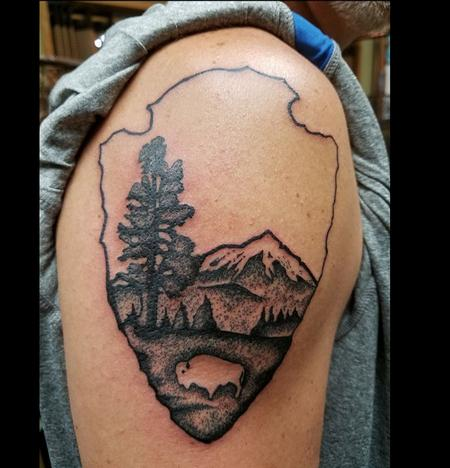 Tattoos - Stippled National Park Service - 129264