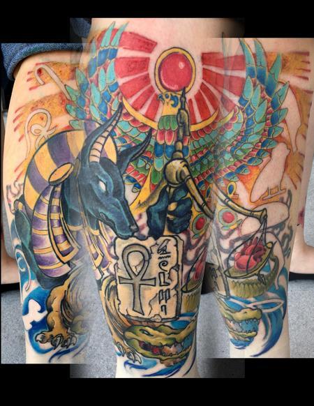 Tattoos - Anubis - 129206