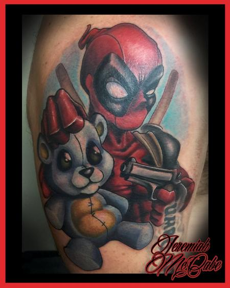 Deadpool!! Tattoo Design Thumbnail
