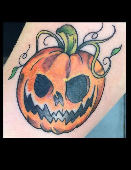 Jack O Lantern Tattoo Design Thumbnail