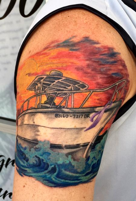 Forever Sailin' On Tattoo Thumbnail