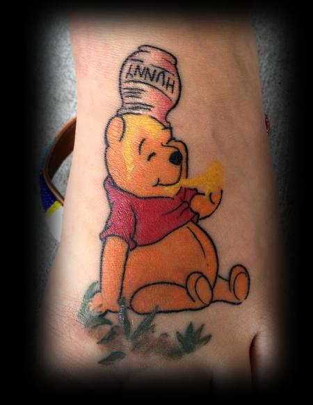 Winnie the Pooh Tattoo Thumbnail