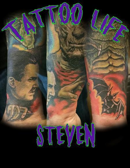 Bela Dracula Tattoo Thumbnail