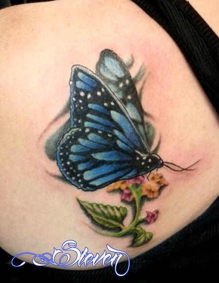 Tattoos - Butterfly - 82632