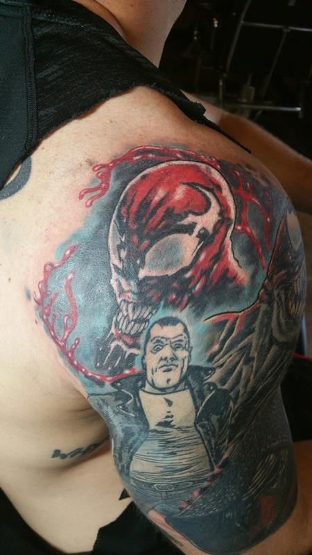 Carnage and Negan Tattoo Thumbnail