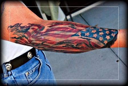 Tattoos - FlagAmerica ! - 71686