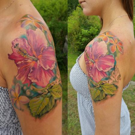Flor Tattoo Design Thumbnail