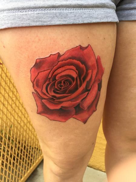 Tattoos - Forever lovey rose - 109046