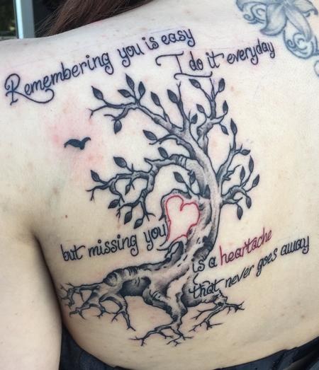 Tattoos - Remembering  - 115081