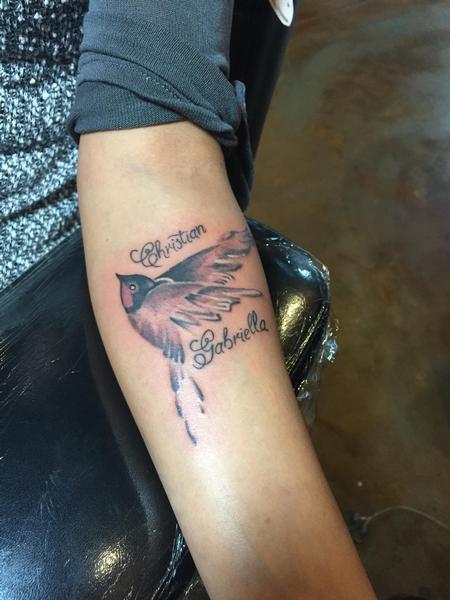 Tattoos - Sparrow - 109039