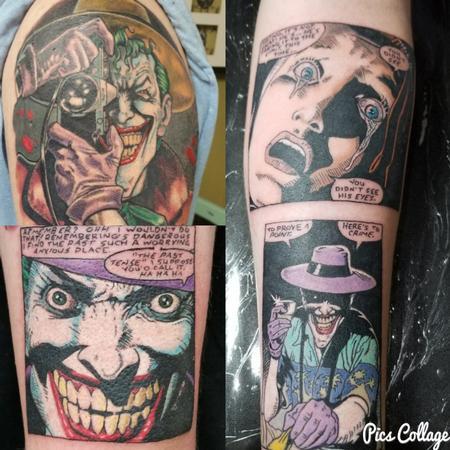 Killing Joke Tattoo Thumbnail
