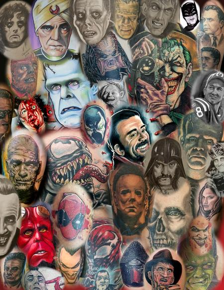 Tattoos - Lots O portraits - 129192
