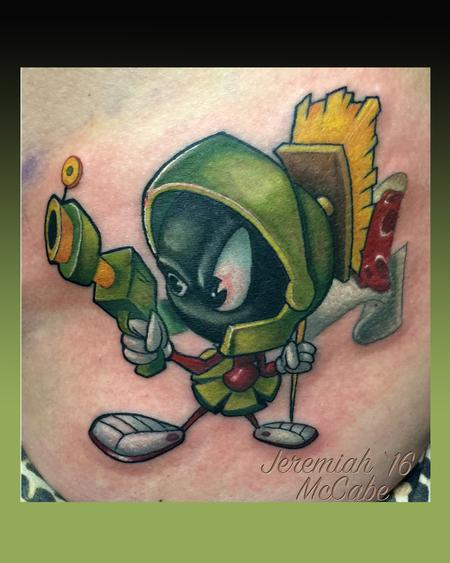 Marvin the Martian Tattoo Thumbnail