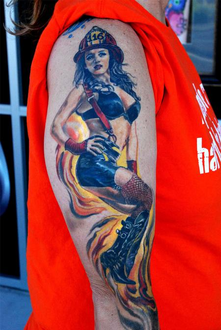 Tattoos - FireGirl - 108998
