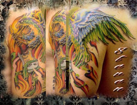 Tattoos - Strato Rises - 77412