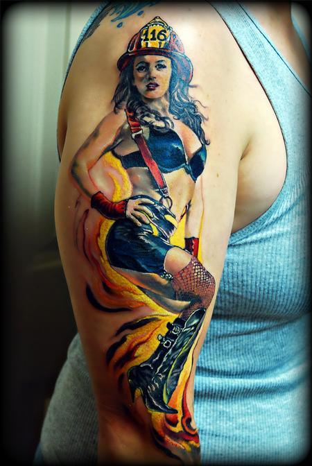 Tattoos - FireGirl !.. - 61250