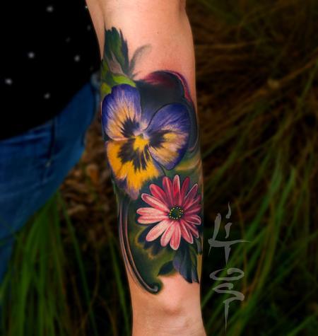 Tattoos - Flores - 131975