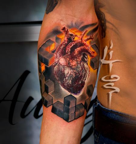 Sacred Blocks Tattoo Design Thumbnail