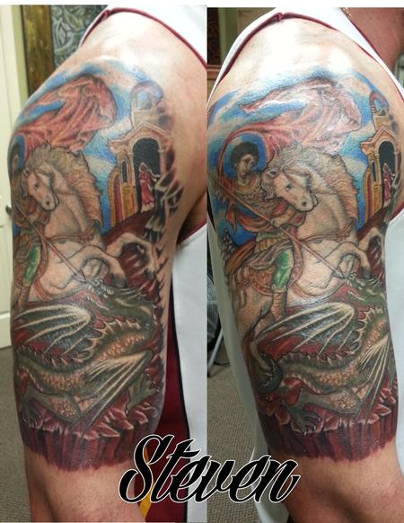 Tattoos - St George - 88895