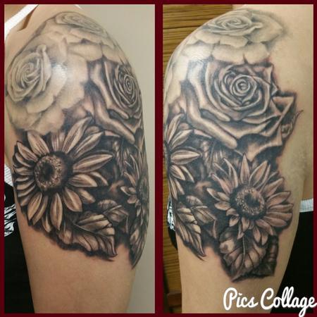Sunflowers Tattoo Thumbnail