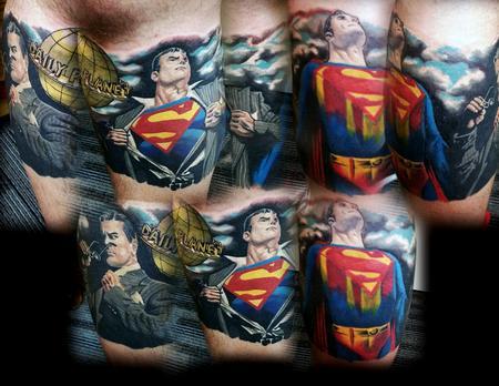 Superman Tattoo Thumbnail