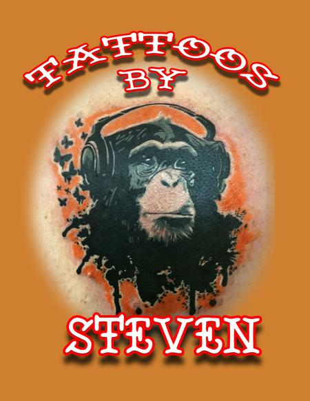 monkeying around Tattoo Thumbnail