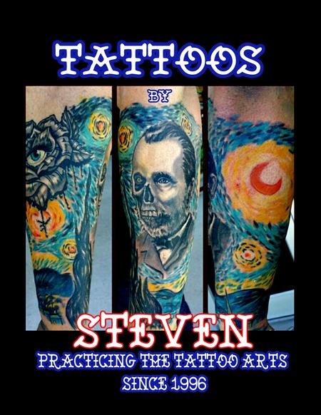 Tattoos - Creepy Van Gogh - 126765