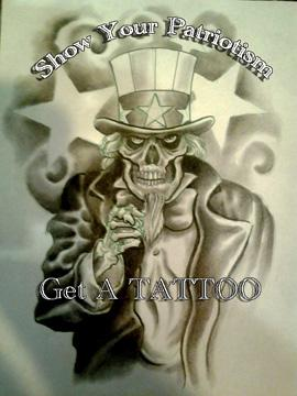 Tattoos - Uncle Sam - 70963