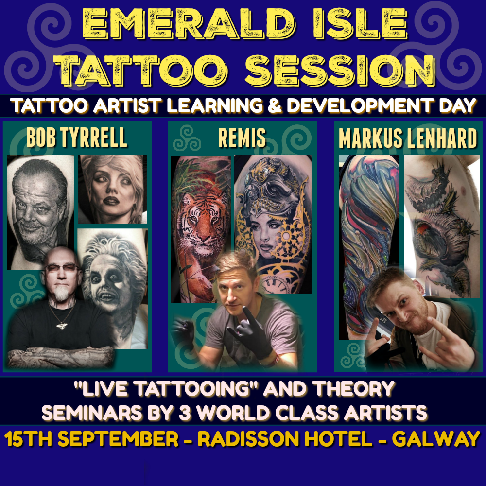 Emerald Isle Tattoo Session