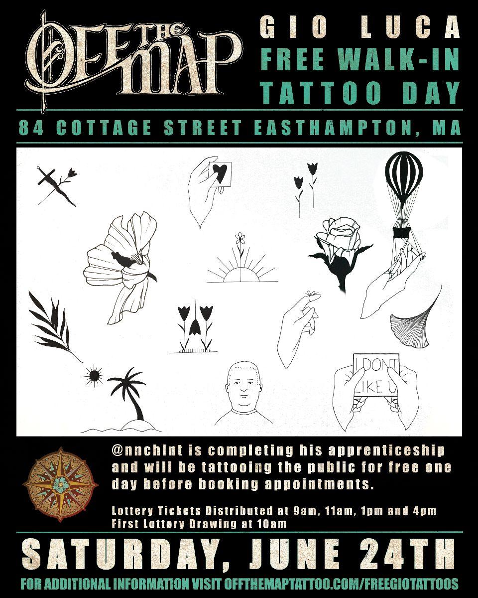 free tattoo day