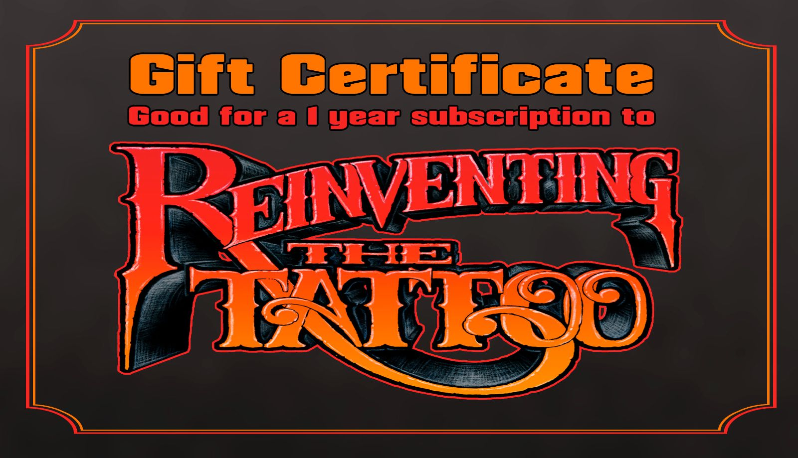 Michele wortman for starters weve had many of you ask what is the best way to gift someone with a subscription to reinventing the tattoo my comprehensive electronic xflitez Image collections