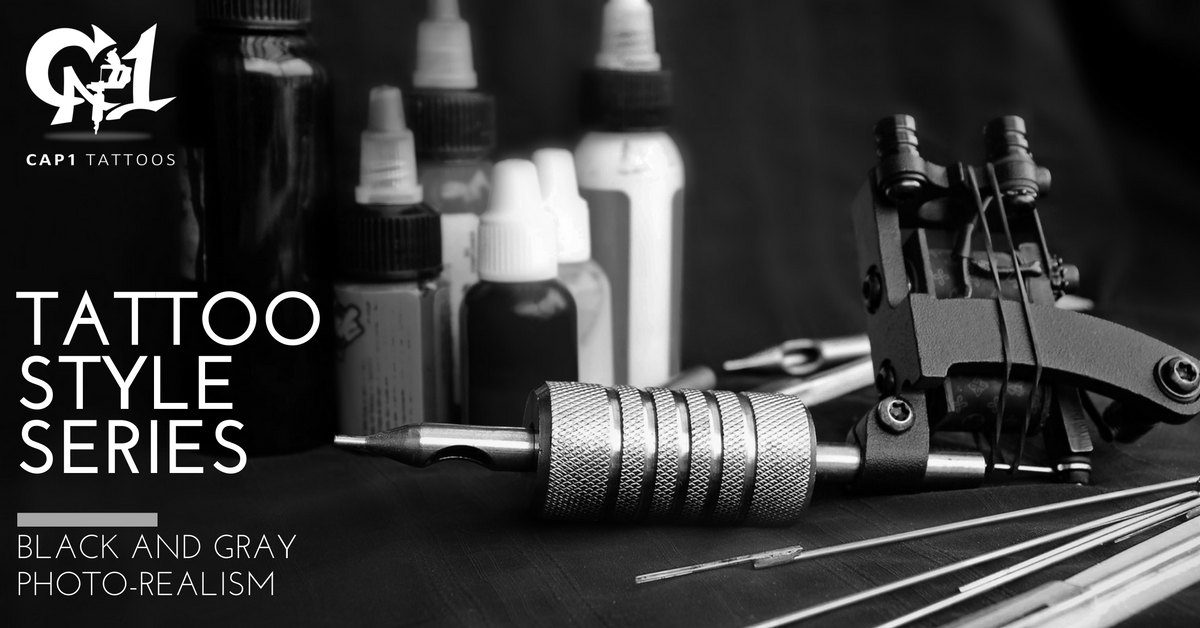 8d4dbae518283 For example, Cap1 Tattoos in Denton, Texas specializes in black and gray  photo-realism. Here are some of the basic components that you need to know  about ...