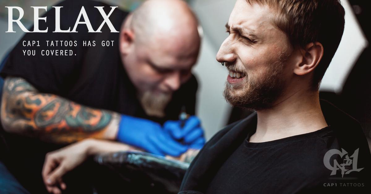 Least Painful Spot To Get A Tattoo: :Least Painful Areas To Get A Tattoo Cap1 Tattoos