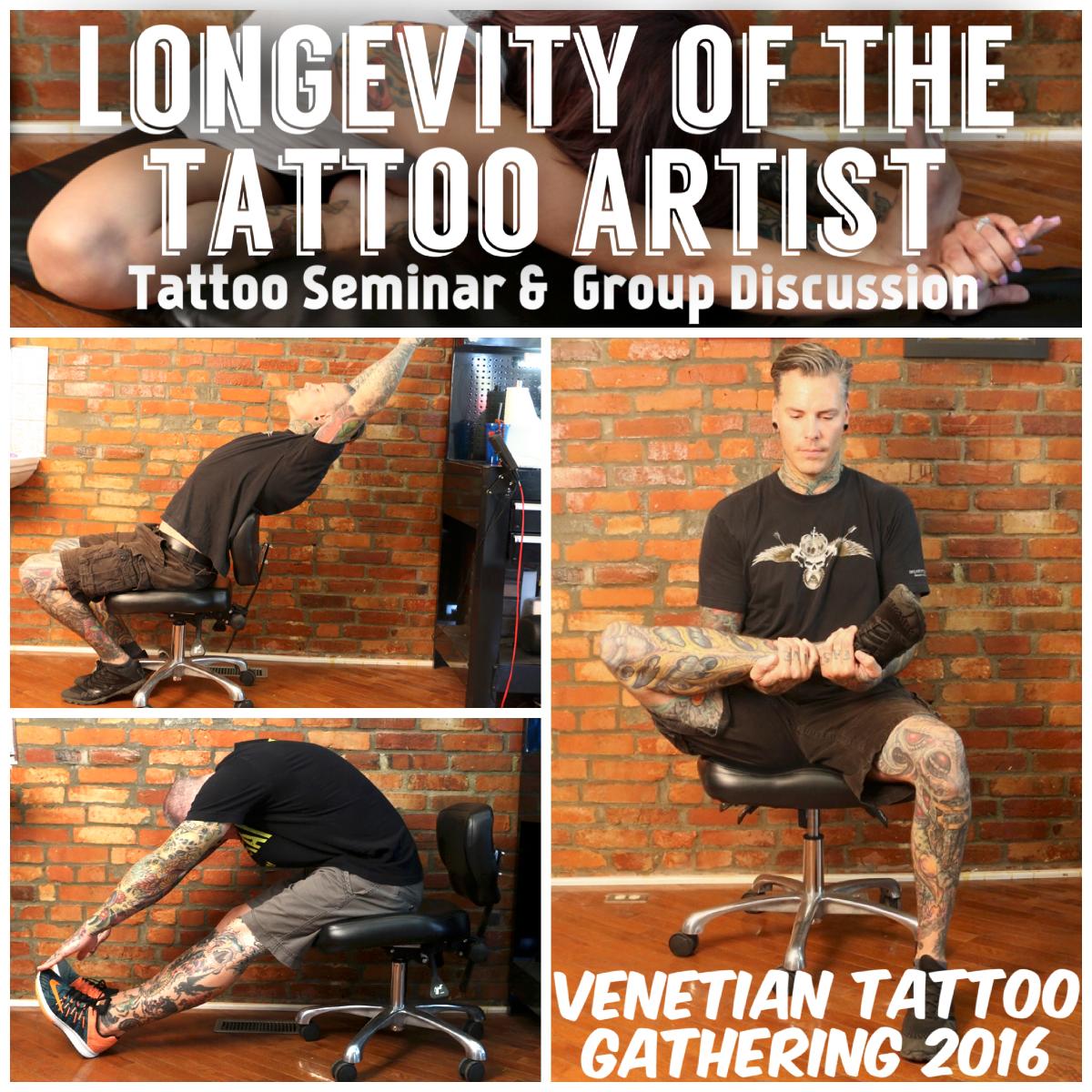 Durb - Longevity Seminar - Venetian Tattoo Gathering
