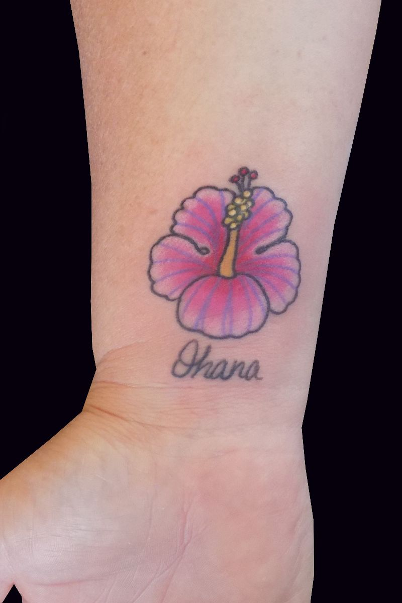 Hibiscus ohana by trevor kennedy tattoonow join our newsletter izmirmasajfo