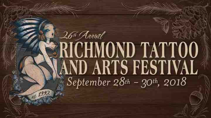 Richmond Tattoo arts Festival 2018