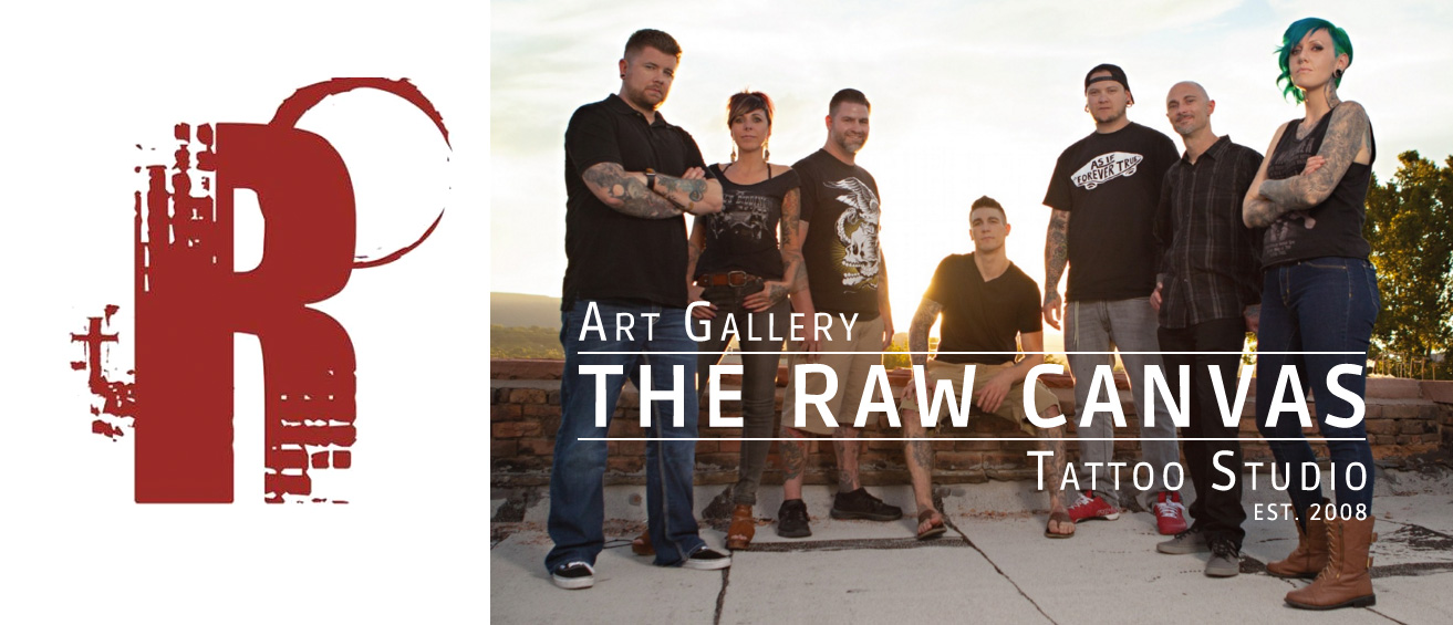 The Raw Canvas Tattoo Studio and Art Gallery