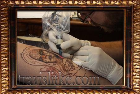 Travis Litke Color Tattoo Bloomington Indiana Crimson Breed Dustin Underwood