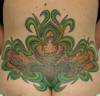 Gabriel Cece - lower back piece