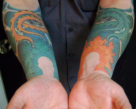 Gabriel Cece - alex grey forearms