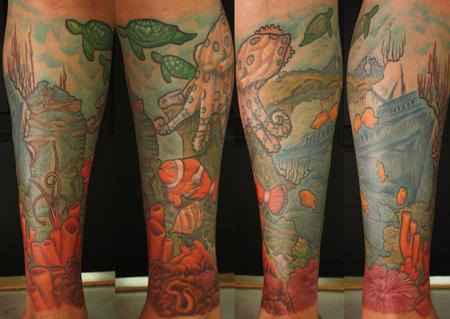 Tattoos - under the sea - 69880