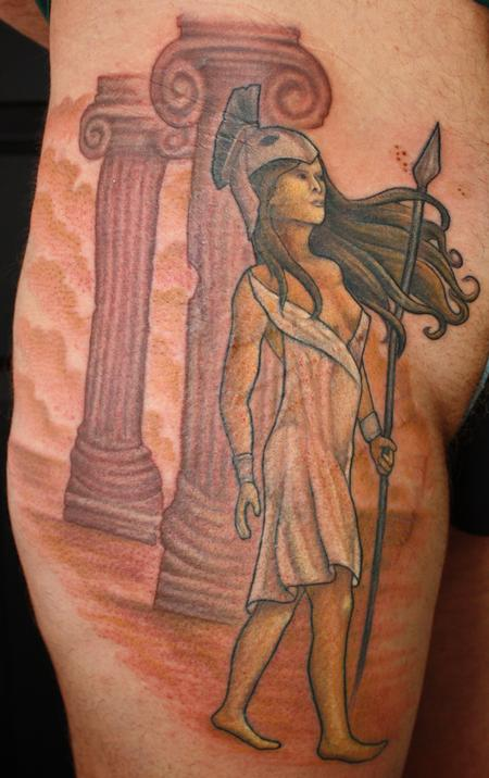 Tattoos - godess warrior - 69873