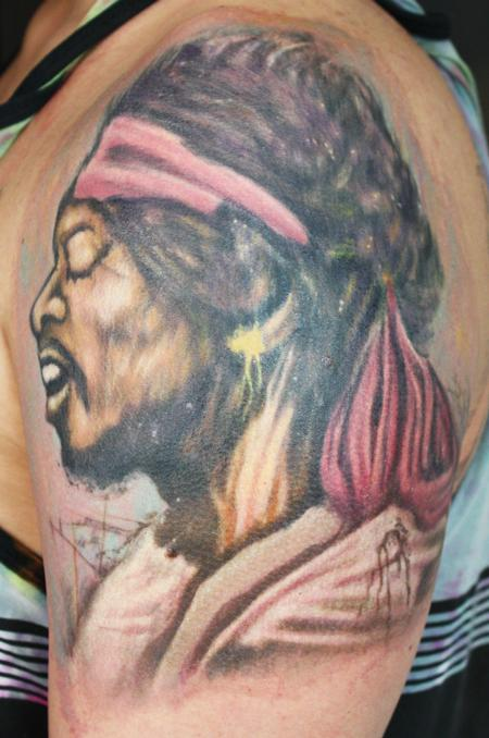 Tattoos - jimi hendrix - 69894