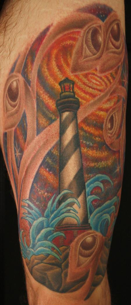 Tattoos - lighthouse - 69891