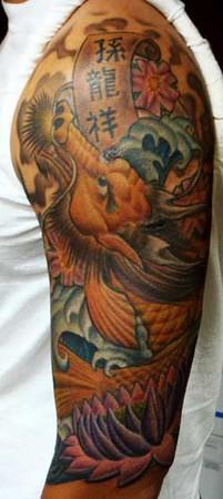 Gabriel Cece - dragon koi