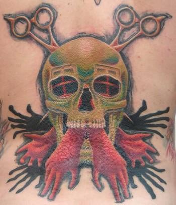 Gabriel Cece - skully hands
