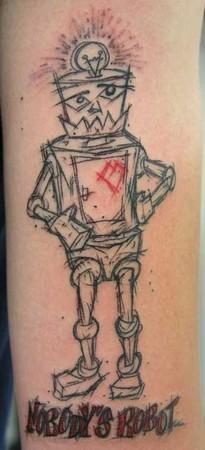 Gabriel Cece - sketchy robot