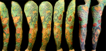 Gabriel Cece - jasons sleeve