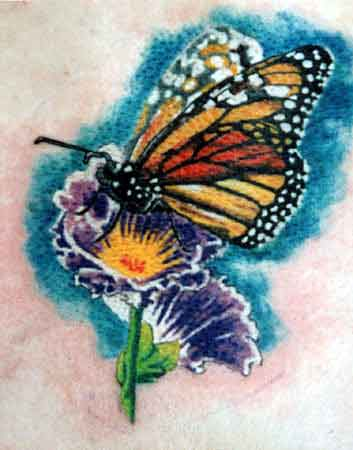 Mike Gutowski - Butterfly Tattoo