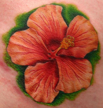 hibiscus flowers tattoos. Hibiscus Flower